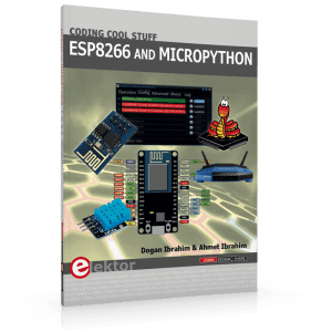 New Elektor Book: ESP8266 and Micropython