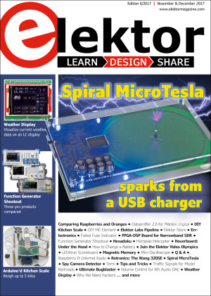Elektor Magazine edition 6/2017 released