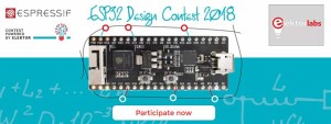 ESP32 Design Contest 2018 - don't stay in draft