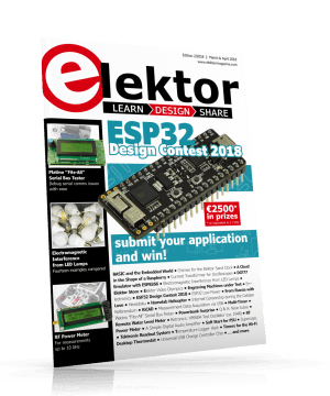 Elektor Magazine 2/2018 now on sale -- print or download