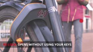 Re-Lock: keyless automatic bike lock