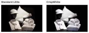 Natürliche Farbwahrnehmung mit CrispWhite-LEDs