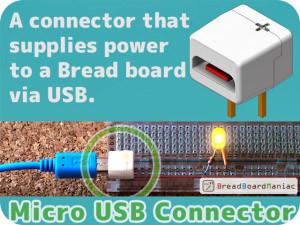 USB-Anschluss für das Steckbrett