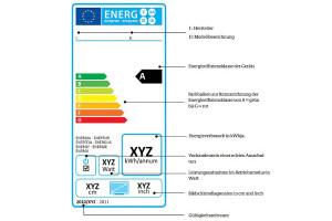 EU-Effizienz-Label - nun auch für TV-Geräte
