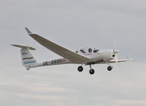 Hybrid-elektrisches Flugzeug