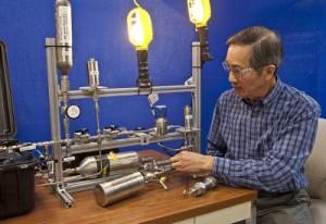 Aluminiumhydrid ermöglicht leichte Brennstoffzellen