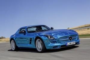 Elektrischer Supersportler: Mercedes-Benz SLS AMG Electric Drive