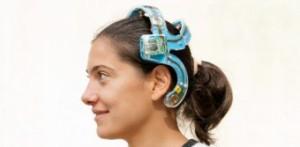 EEG-Funk-Headset mit aktiven Elektroden