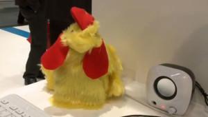 Elektor.tv auf der Electronica: Raspberry Pi und das sprechende Hühnchen