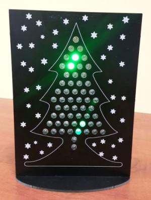 LED-Weihnachtsbaum jetzt als aufgebautes Modul oder Bausatz verfügbar
