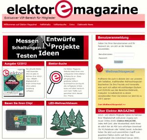 Neue Elektor-Zeitschriften-Website - weitere Vorteile für Abo-Mitglieder