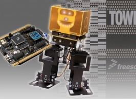 Zweibeiniger Roboter als Kit + BASIC