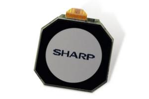 Kleines rundes LCD