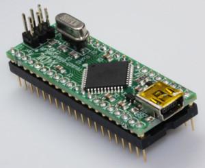 USB-ATxmega-Controller für den Dual-In-Line-Sockel