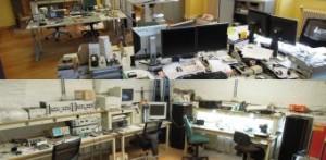 Das Labor: Elektronik-Chaos oder sterile Bildschirmlandschaft?