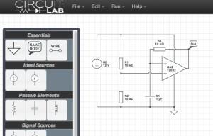 CircuitLab: Online-Schaltungssimulator