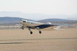 Boeing testet Nurflügler