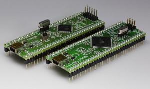DIL-Mikrocontroller-Modul mit ATxmega und USB