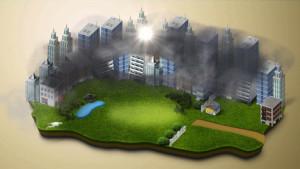 Elektrostatischer Smog-Staubsauger