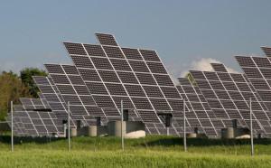 Selbstreinigende Solarpanels