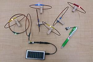 Drahtlose Energieübertragung per Gleichstromresonanz