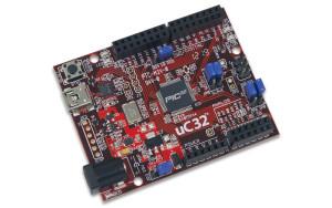 Arduino-kompatible chipKIT-uC32-Entwicklungsplattform mit Wi-Fi Shield