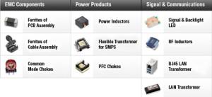 Component Selector von Würth Elektronik