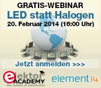 Webinar: LED-Ersatz für GU4-Halogenlampen