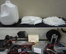 Plastikrecycling für 3D-Druck