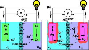Osmose-Zelle mit überraschend hoher Spannung