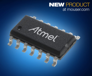 The Atmel ATtiny102 and ATtiny104 microcontrollers, available from Mouser Electronics, are low-power CMOS 8-bit microcontrollers based on the Atmel AVR-enhanced RISC architecture.