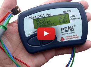 Leistungsfähiger portabler Halbleiter-Tester: PEAK DCA75