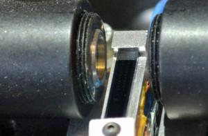 Die eigentliche Uhr ist der schmale schwarze Streifen in der Mitte. Bild: Matthew Chin, UCLA