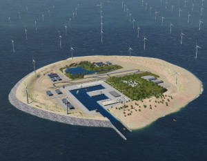 Power Link Island. Bild: TenneT.