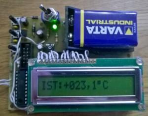 Projekt Nr. 57: Min/Max-Thermometer