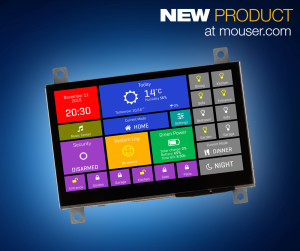 The MikroElektronika mikromedia HMI smart displays are powered by an FTDI Chip FT900Q.