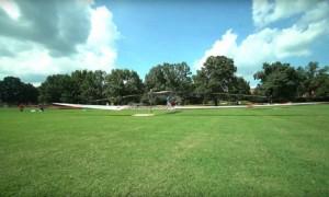 Bemannter Solar-Hubschrauber hebt ab (ein bisschen)