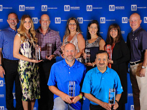 The Mouser Best-in-Class Award winners for 2016