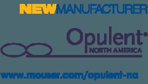 Mouser Electronics gibt ein globales Distributionsabkommen mit Opulent North America bekannt.