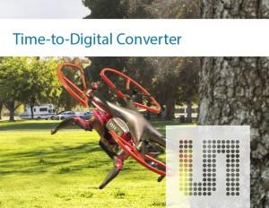 Zeit/Digital-Umsetzer mit 10 ps Auflösung und 70 MHz Abtastrate