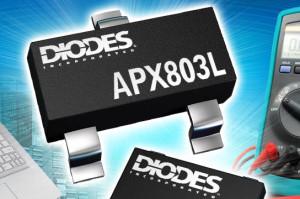 Spannungs-Detektor APX803L. Bild: Diodes