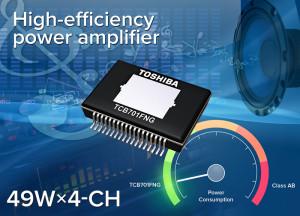 Neues Verstärker-IC TCB701FNG. Bild: Toshiba.