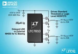 LTC7810. Bild: Linear Technology.