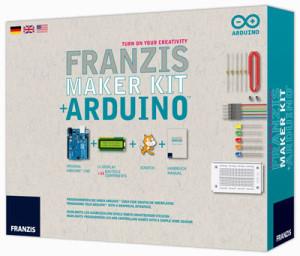 Neues Arduino Maker Kit von Franzis jetzt FREI HAUS bestellen!