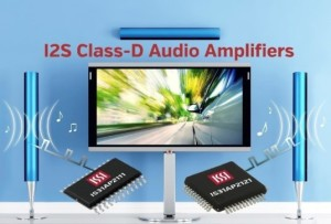 Klasse-D-Audioverstärker mit I2S-Eingängen