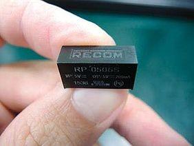 Fälschungssicheres Gehäuse für RECOM-Produkte
