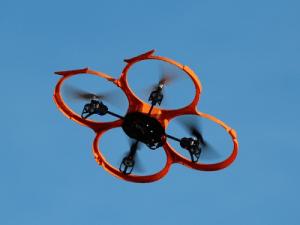 Illegale Drohnen abfangen