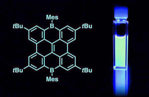 Stabile blaue Nano-Graphen-OLEDs