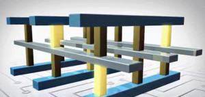 Aufbau von 3D-Xpoint-Speicherzellen