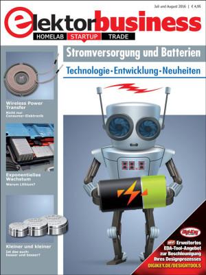 """Jetzt erhältlich: Elektor Business """"Stromversorgung und Batterien"""""""